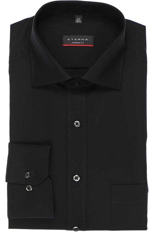 Eterna Black Dress Shirt