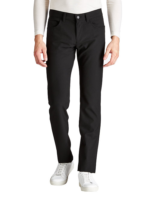 Alberto Ceramica Pipe Slim Fit Pants Black