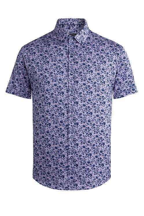 Bugatchi Short Sleeve Floral Shirt