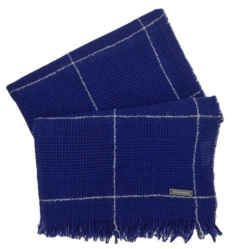 Baldessarini Wool & Cashmere Check Scarf
