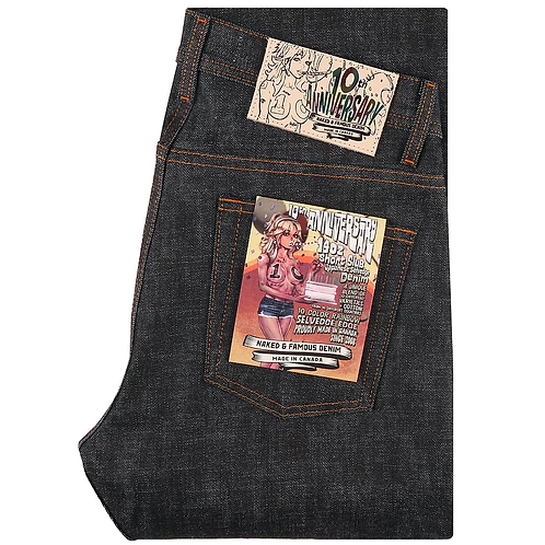 Naked & Famous Weird Guy 10th Anniversary Selvedge