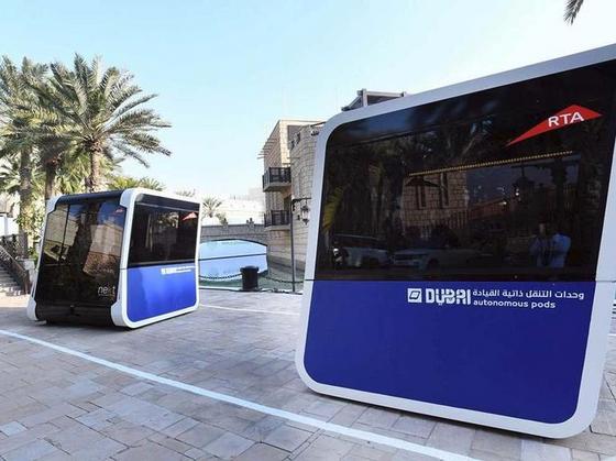 New autonomous pods move in swarms to improve public transportation