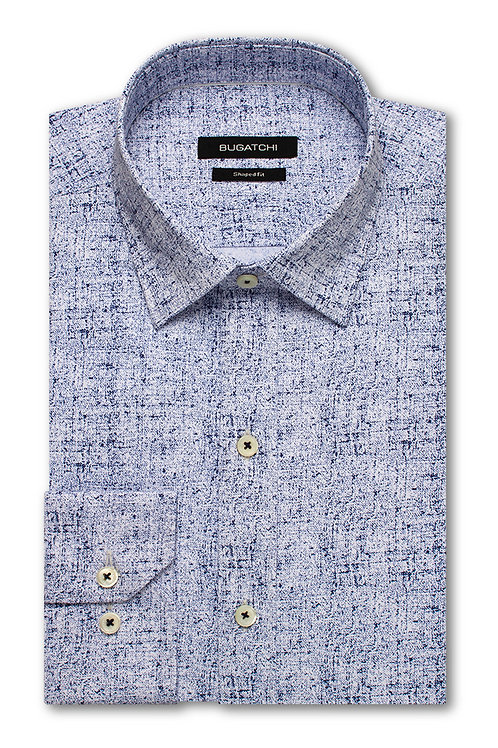 Bugatchi Performance Blue Shirt