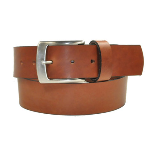 Benchcraft Wide Leather Belt Tan