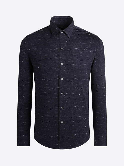 Bugatchi OoohCotton Black Shirt