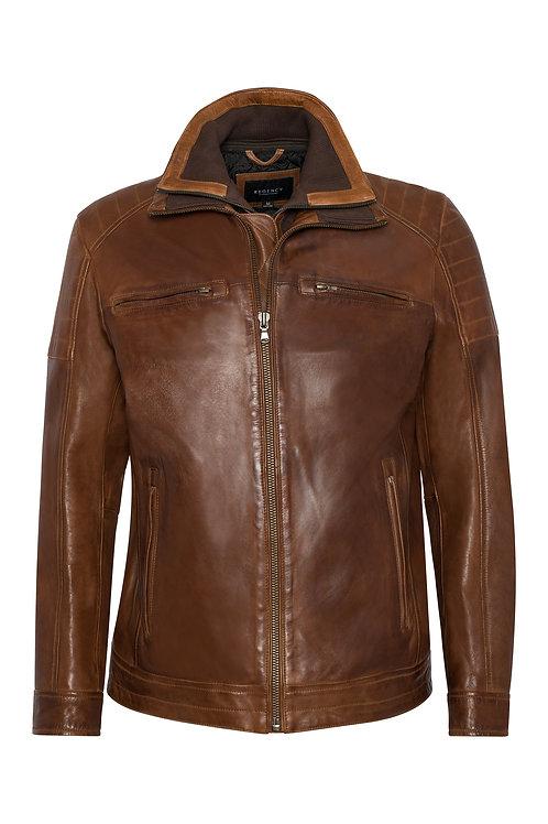 Regency Lamb Skin Leather Jacket