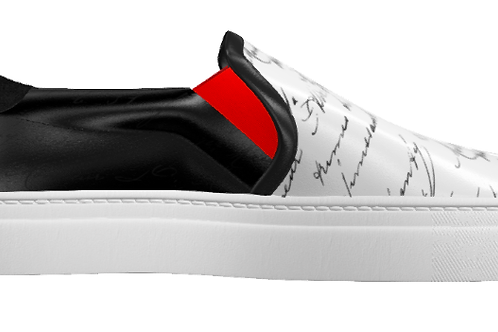 Writer Sneaker | Slip on