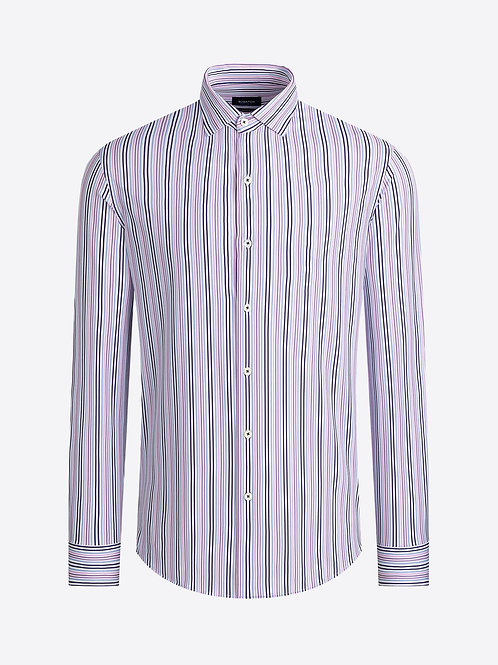 Bugatchi OoohCotton Stripe Shirt
