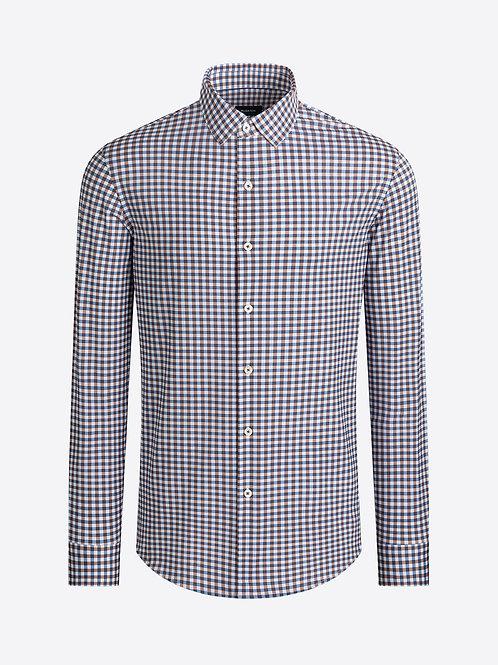 Bugatchi OohCotton Gingham Check Shirt