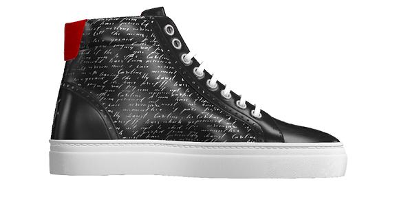 Writer Sneaker | High Kicks