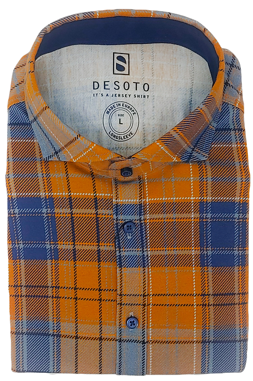 Desoto Printed Jersey Cotton Shirt