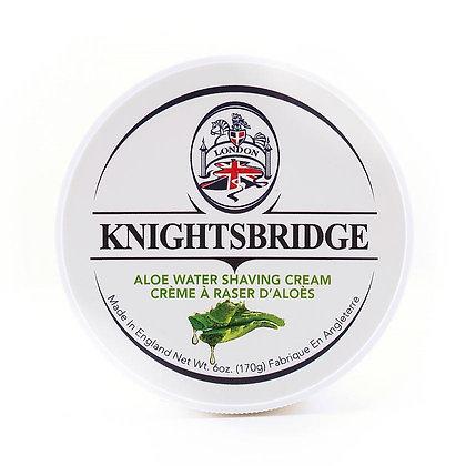 Knightsbridge Aloe Water Shaving Cream
