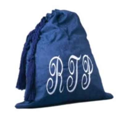 Barristers Robe Bag | Blue Velour
