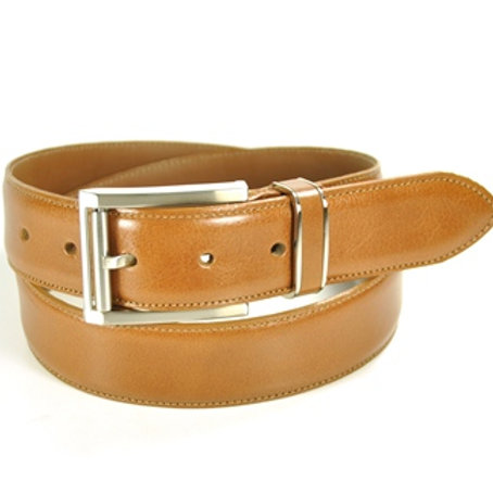 Benchcraft Leather Belt Tan
