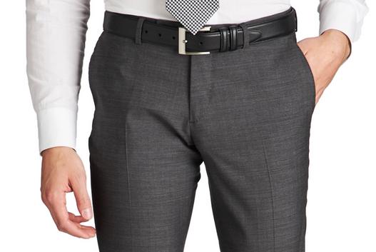 Slim Fit court pant