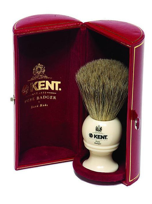 Kent Pure Grey Badger Shaving Brush