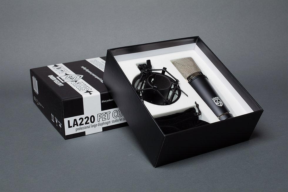 Lauten Audio LA-220, In The Box