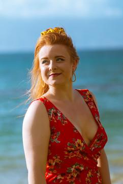 Portrait at the beach 2019