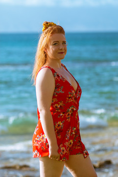 Portrait at the beach 2019