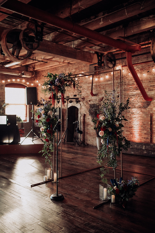 Amanda jen photography wedding Starline factory Harvard il helm