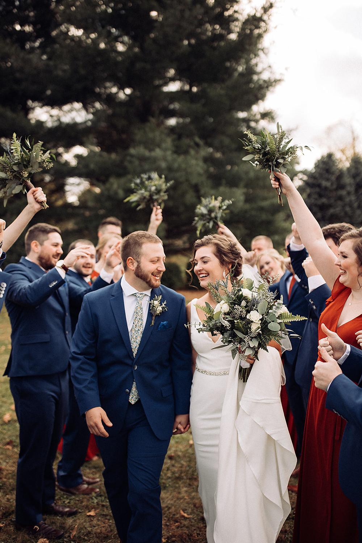 boxed and burlap delavan Wisconsin wedding venue wedding photographer