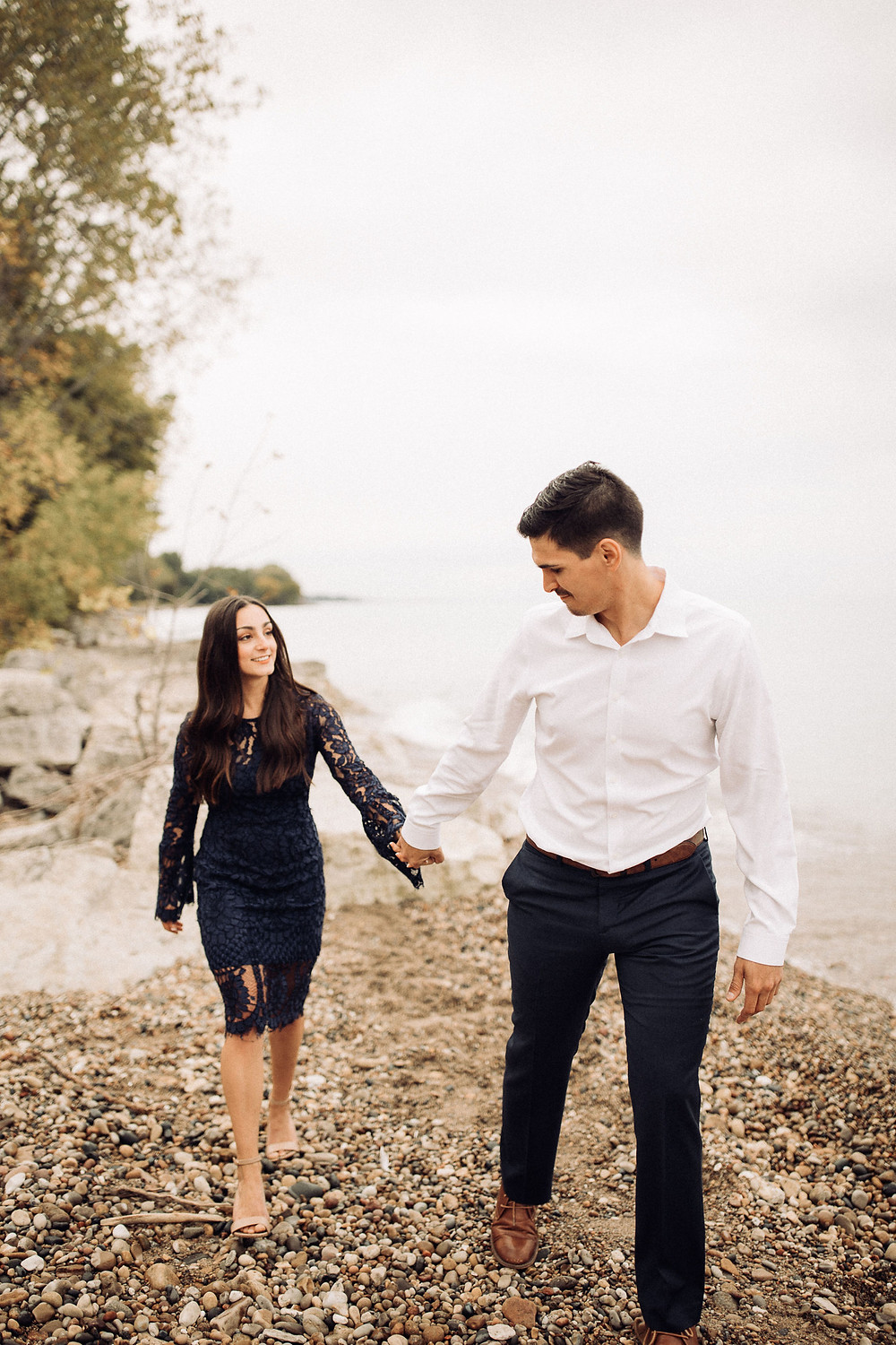 Amanda jen photography engagement session kenosha wi