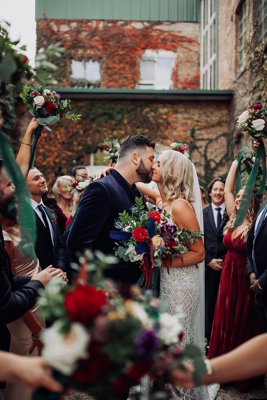 Starline factory wedding Harvard Illinois