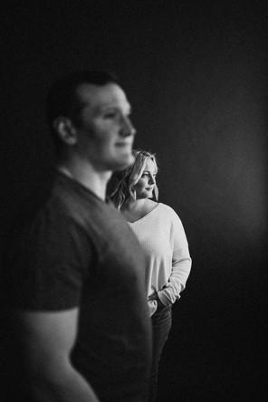 Emma + David | Studio Session | Kenosha, WI