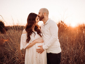 Sunset Maternity Session | Kenosha, Wisconsin