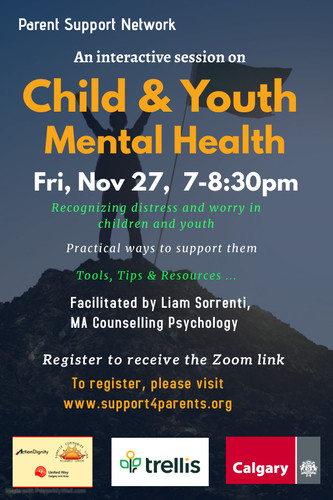 Child and Youth mental health workshop.j