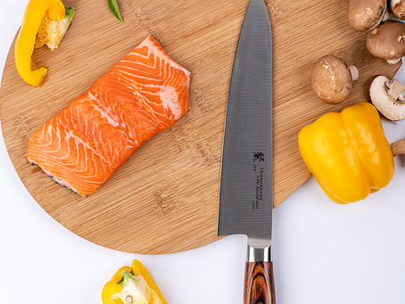 Tamahagane Knives, Kitchen Knife Commercial Product Photography