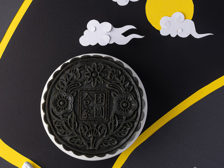 Sugar & Flour Mid-Autumn Festival Moon Mille Crepe, Creative Food Commercial Photography Malaysia