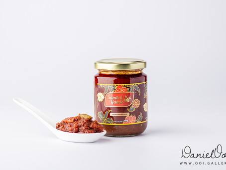 Food Product Photography: Sambal Gamik