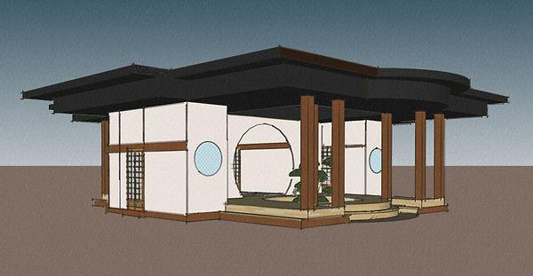 Tea House model