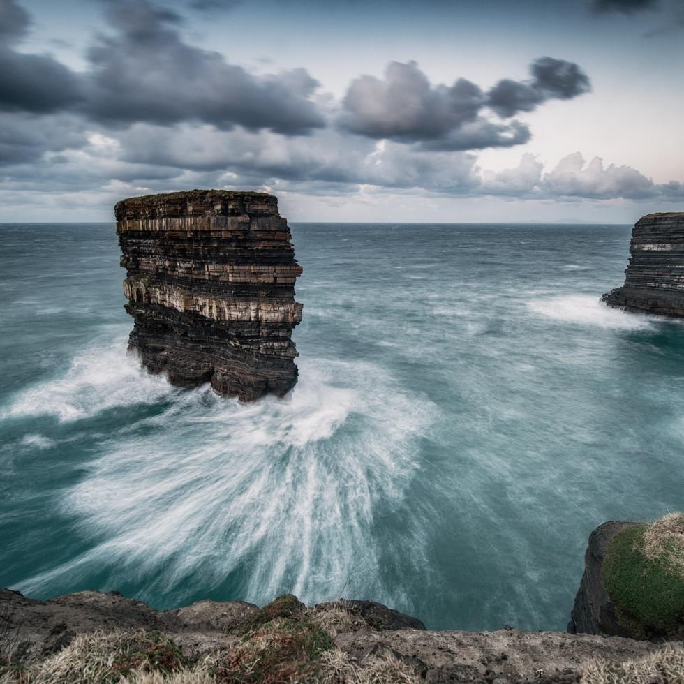 Dun Briste Downpatrick Head Sea
