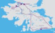 Route map Connemara Day Tour