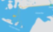 Route map Aran Islands day trip