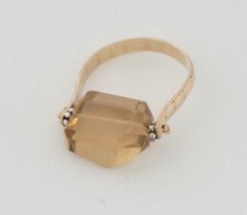 プレシャスシトリンのリング / Precious citrin ring