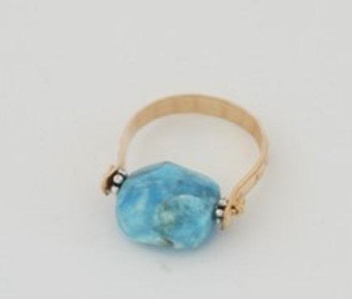 クリソコラーのリング / Chrysocolla ring