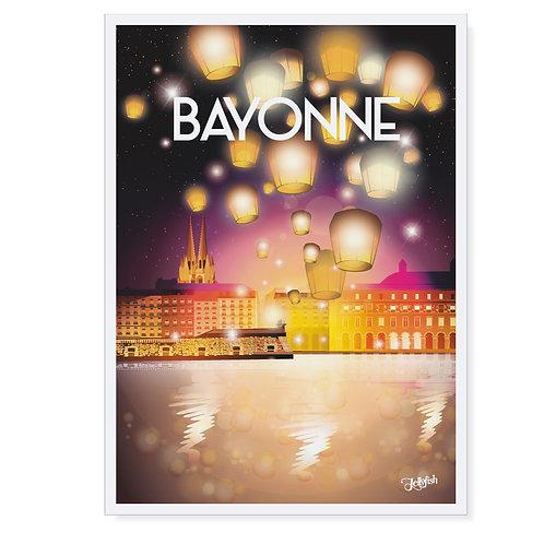 AFFICHE BAYONNE