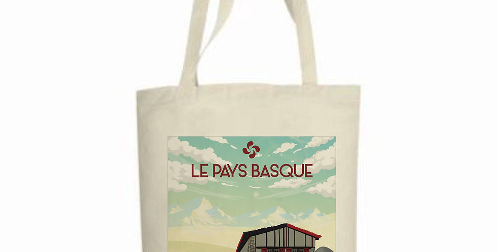 TOTE BAG PAYS BASQUE