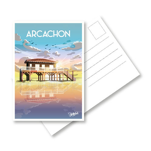 CARTE ARCACHON