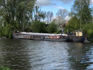 Boot op Overijsselse Vecht