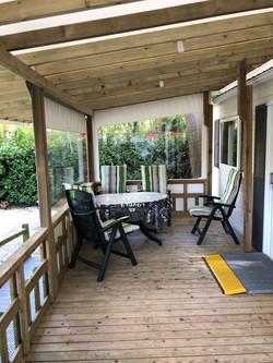 Chalet veranda