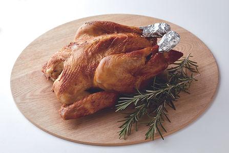 秋鶏ローストチキン
