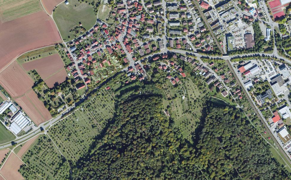 Konzeptidee: Village meets landscape