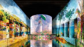 Monet, Renoir, Chagall aux Bassins de Lumières de Bordeaux