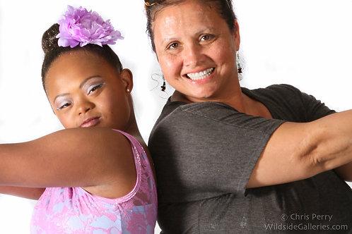 Nia and Mom 2  2015