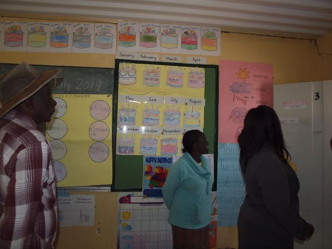 An Omungolyo School classroom