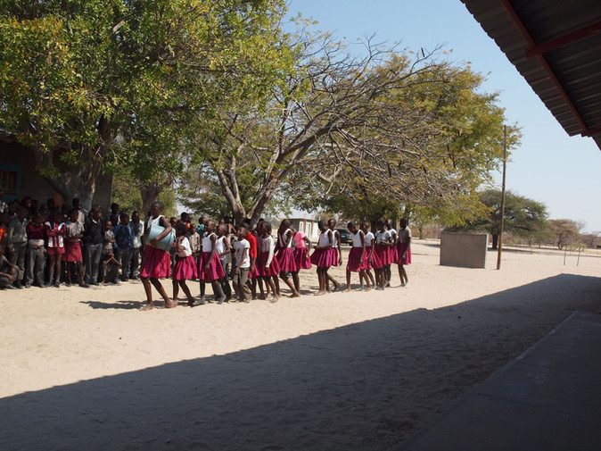 The Children of the Malangu School